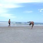 Beach Dębki freestyle 01